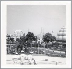 "A photo of the 1964-65 World's Fair. Credit: Doug Coldwell. Read more on the GenealogyBank blog: ""1964 World's Fair: History, Photos & Memorabilia."" http://blog.genealogybank.com/1964-worlds-fair-history-photos-memorabilia.html"