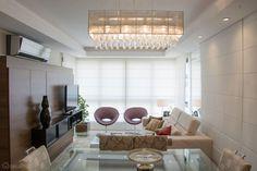 68 salas de estar pequenas projetadas por profissionais de CasaPRO - Casa