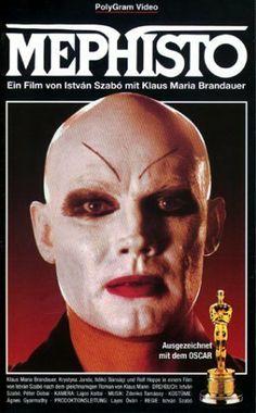 Mephisto. Hungría; Alemania, 1981. Dir.: István Szabó. Int.: Klaus Maria Brandauer, Ildikó Bánsagi, Rolf Hoppe, Krystyna Janda.