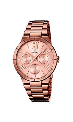 Festina F16798/1 - Women's Watch, Stainless Steel placcato, color:Brown Check https://www.carrywatches.com Festina F16798/1 - Women's Watch, Stainless Steel placcato, color:Brown #festinaautomatic #festinawatches #festinawatchesprices