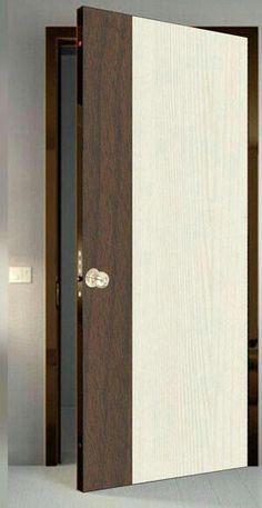 Solid Wood Doors For - January 12 2019 at - May 21 2019 at Modern Wooden Doors, Modern Door, Wood Doors, Internal Doors Modern, Bedroom Door Design, Door Design Interior, Interior Doors, Craftsman Interior, Flush Door Design