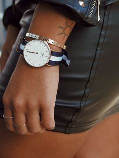 Leather + details