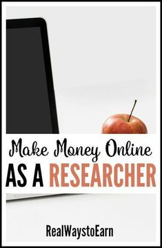 Did you know there are tons of ways to get paid for doing online research? And the best part is these are mostly all work at home jobs that allow you the flexibility to work whenever you want. If you feel you're really good at doing online research, this