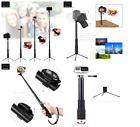 ﹩32.19. Selfie Stick Bluetooth Tripod Stand Action Camera Gopro Hero 5 Smartphone Phone    UPC - 688209505634, EAN - 0688209505634