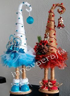 Cone Christmas Trees, Christmas Hat, Handmade Christmas, Christmas Wreaths, Christmas Ornaments, Christmas Projects, Halloween Crafts, Holiday Crafts, Silver Christmas Decorations