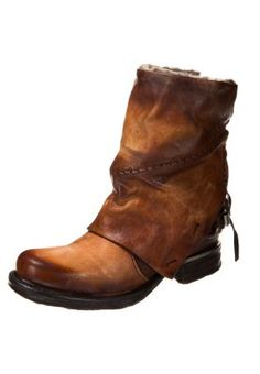 A.S.98 SAINTMETAL - Cowboy/Biker boots - brown for £250.00 (14/10/14) with free delivery at Zalando