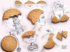 Outlook on life and crackers: FOREVER CHANGED. | This Artist's Cute Little Creations Will Bring A Smile To Your Face Today