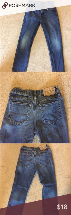 Boys Polo jeans size 12 straight leg EUC Ralph Lauren Polo jeans boys size 12. No tears, fraying or stains. Polo by Ralph Lauren Bottoms Jeans