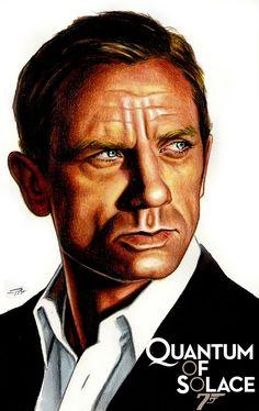 Daniel Craig as Bond by Patricio Carbajal