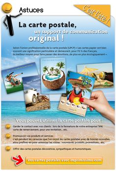 Carte postale: support de communication original!