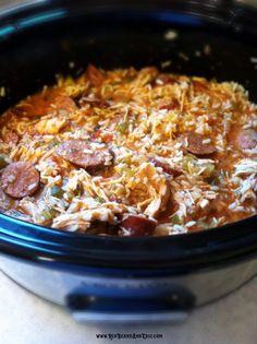 Jambalaya slow cooker recipe