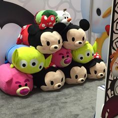 Marvel Tsum Tsum's Spotted At SDCC