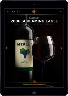 This Cult Wine #mobile #app we designed and developed will have you salivating. http://rhythmagency.com/case-study/cw #wine