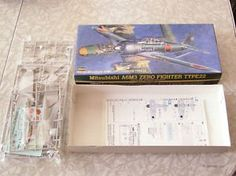 Mtsubishi A6m3 Zero Fighter Type 22 Model #hasegawa @modelkits #planemodels #toys #collectibles #collectables