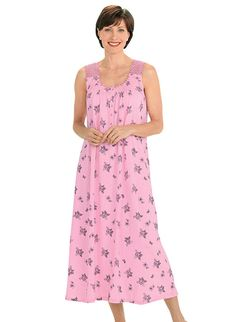 0beb15b2d0 Sleeveless Floral Gown. Floral GownNightgownsBallerinaLadies ...
