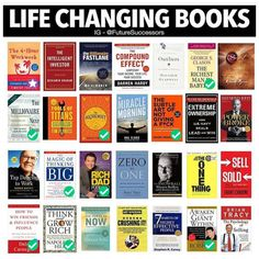 28 Life-Changing Books: My 2019 Reading List + Freebies – Wise Woman Wallet Best Self Help Books, Best Books To Read, Good Books, Wise Books, Books To Read In Your 20s, Books To Read For Women, Book Club Books, Book Lists, Entrepreneur Books