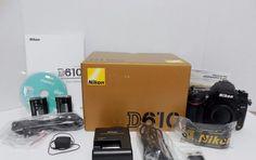 Nikon D D610 24.3MP Digital SLR Camera - Black (Body Only) PRISTINE 8320 Shots