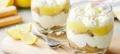 Three sparkling wine dessert recipes for Christmas, including this Champagne and Lemon Curd Syllabub. Tiramisu Cups, Syllabub, Lemon Dessert Recipes, Lemon Curd, Food Festival, I Love Food, Cooking Time, Biscuits, Food And Drink