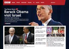 BBC News Website Concept on Behance