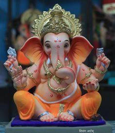 Image may contain: 2 people Jai Ganesh, Ganesh Lord, Ganesh Idol, Shree Ganesh, Ganesha Art, Ganesh Chaturthi Photos, Happy Ganesh Chaturthi Images, Shri Ganesh Images, Ganesha Pictures