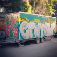 Art on wheels. #Denmark #Dänemark #Copenhagen #Kopenhagen #streetart #urbanart #graffitiart #graffiti #art #colorful #urbanlife #mobileart #publicart #exhibition #artexhibition #mobileexhibition #publicexhibition