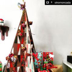 Increíble ver lo bellos que lucen los árboles de Navidad de @hecho_y_derecho en sus casas!! #navidad #diseño #mexico #sustentable Foto de: @otromoncada