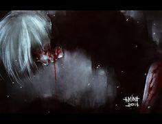 Tokyo Ghoul - Ken Kaneki - Fanart (Kaneki by NanFe on DeviantArt)