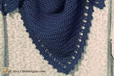 I wanted a simple shawl, one that wasn't fancy and frilly but still had a little border to give it a bit of something extra. One I could wear everyday with jeans and would coordinate with lots of ...