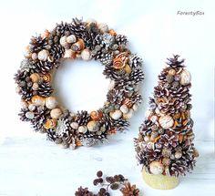 Рождественский венок ручной работы. Новый год. Новогодний декор #craftaua #handmade #newyear #christmaswreath