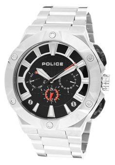 Price:$125.00 #watches Police 12740JS-02M, This Police timepiece is uniquely known for it's classy and sporty look. It's accentuated design has made it one of the best sellers year after year.