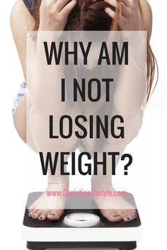 Trying to lose weight but aren't seeing any results? Find out why you're not losing weight.