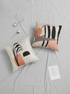 To find out about the Abstract Graphic Print Cushion Cover at SHEIN, part of our latest Decorative Pillows ready to shop online today! Printed Cushions, Graphic Prints, My Room, Free Gifts, Decorative Pillows, Bed Pillows, Stationery, Abstract, Cover