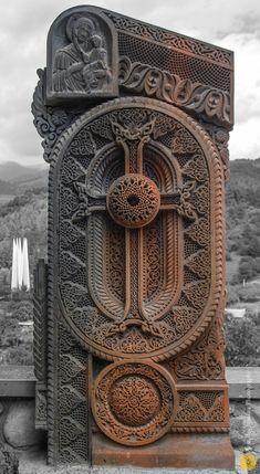 Armenian Cross-Stone ~ by Araz B., via 500px