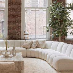 Interior Design Inspiration, Home Decor Inspiration, Home Interior Design, Interior Architecture, Contemporary Architecture, Living Room Interior, Home Living Room, Living Room Decor, Living Room New York