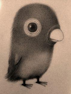 """meine bird"" by Renee French"