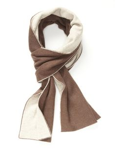 Double-Faced Wool Scarf by Portolano on Gilt.com