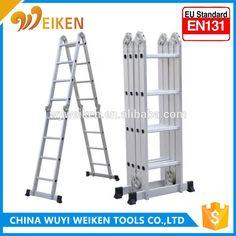 Aluminium Multi-Purpose Ladder, Folding Ladder, aerial ladder fire truck
