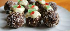 Raw Christmas puddings