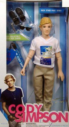 "Wish Factory Cody Simpson 11.5"" Fashion Doll Style 1"