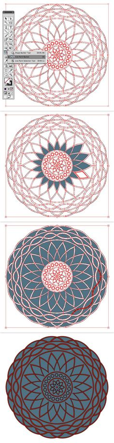 Quick Tip: How to Create a Two Color Mandala with a Pattern Brush | Vectortuts+
