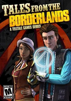 Tales From Borderlands Telltale Game Series Cover