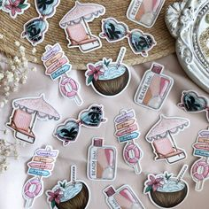How To Make Stickers, Cool Stickers, Calligraphy Cards, Cute Little Things, Bullet Journal Ideas Pages, Scrapbook Stickers, Easy Drawings, Sticker Design, Hand Lettering