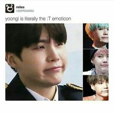 I love all his expressions! :T <--- i love this bc yoongi is :T and hoseok is the embodiment of :3 .... yoonseok. aw yisss.
