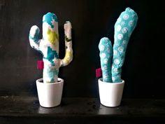 Cactus de tela. www.drapsdesign.com/cactus-greenfriday Draps Design, Cactus, Toothbrush Holder, Tela, Plants