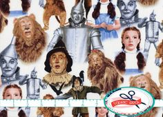 Hey, I found this really awesome Etsy listing at https://www.etsy.com/listing/196656921/wizard-of-oz-fabric-by-the-yard-fat