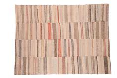 8x10.5 Vintage Rag Rug Carpet by oldnewhouse on Etsy