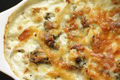 Bandeja de macarrones, con coliflor, jamón y bechamel de espinacas - https://www.thermorecetas.com/bandeja-macarrones-coliflor-jamon-bechamel-espinacas/