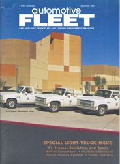 December 1986 Issue - Automotive Fleet Magazine