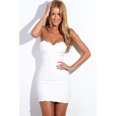 Nothing Really Matters Dress White