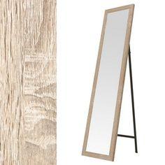 55,6€ Espejo de suelo Niu natural. #espejo #madera #decoración  Deskontalia Productos - Descuentos del 70%